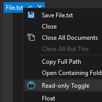 open read only from windows explorer